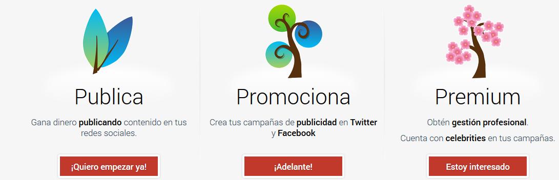 Twync.es plataforma de marketing social