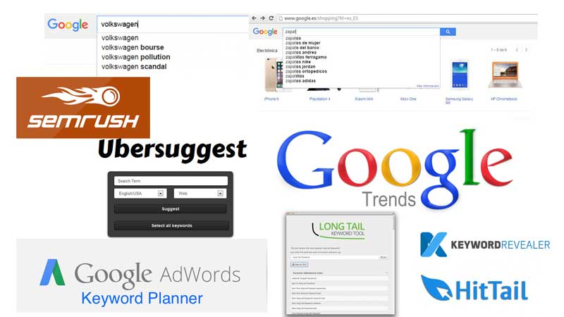 herramientas de Keyword Research