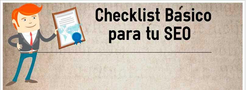 checklist basico seo