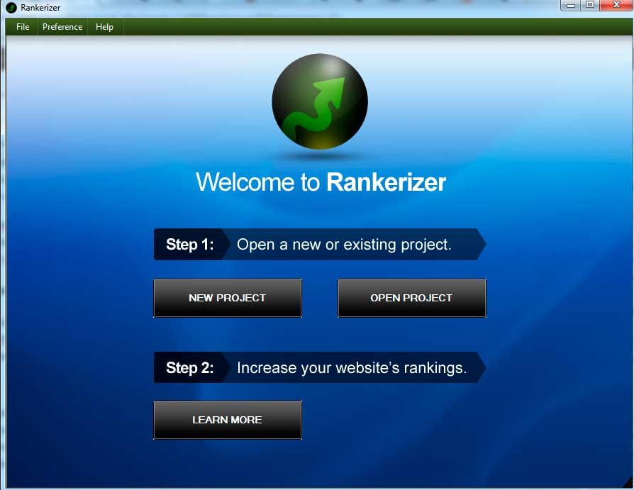 Empezando con Rankerizer