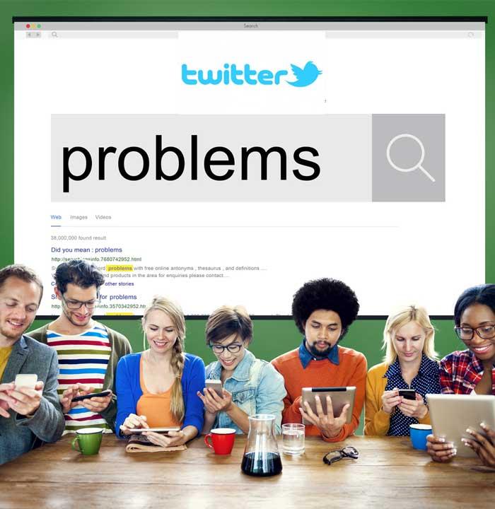 desventajas de Twitter