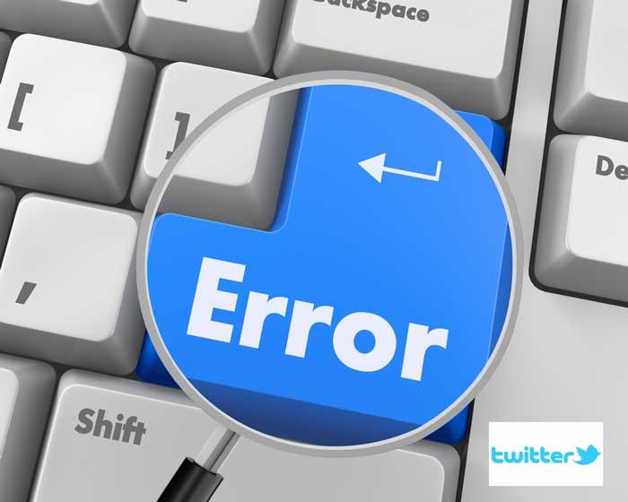 errores más comunes de las empresas en Twitter