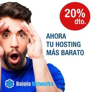 Contrata tu hosting