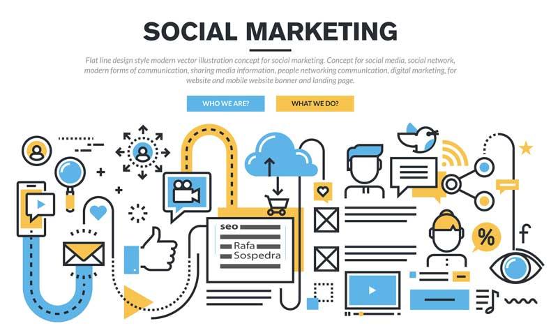 Social Media Tiendas online