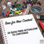 actualizar contenido blog