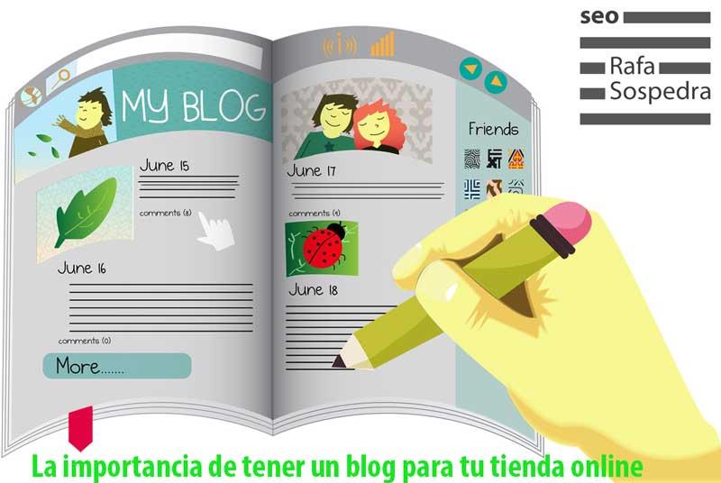 La importancia de tener un blog para tu tienda online