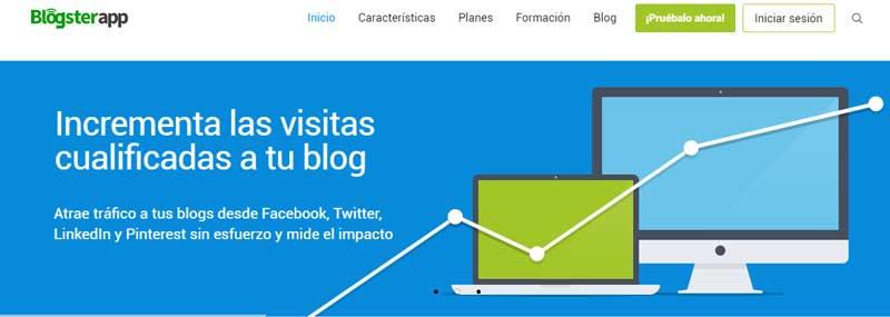 blogsterapp herramienta difusion contenidos