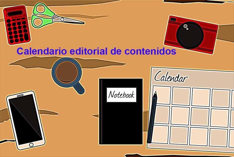 Calendario editorial de contenidos