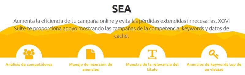 campañas de publicidad online, SEA
