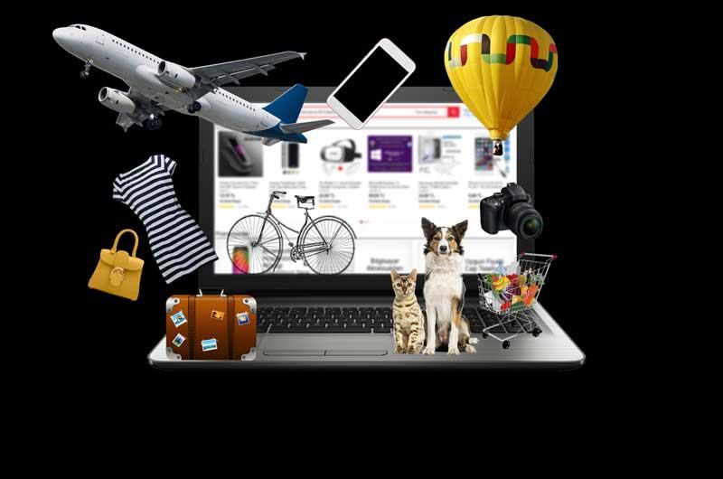 Fotografías de productos tienda online