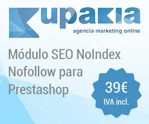 Módulo SEO NoIndex – Nofollow Kupakia