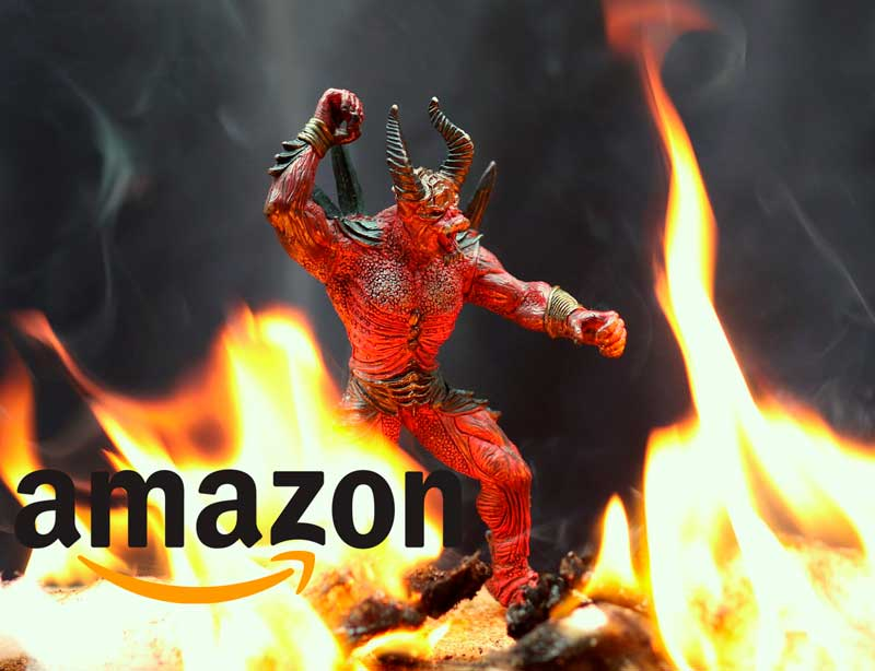 Amazon como diablo