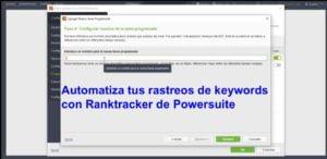 automatiza rastreo de keywords con rank tracker