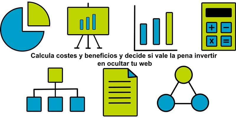 Calcula costes y beneficios web
